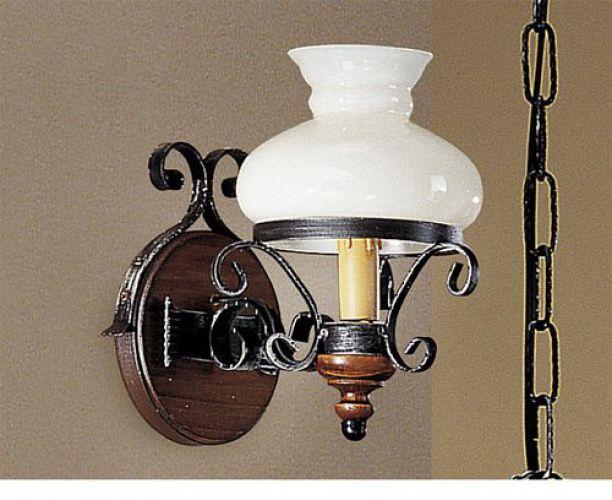 Lampadari in ferro battuto e ceramica incantevole i nostri